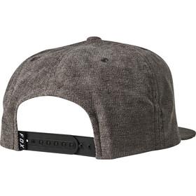 Fox Instill Snapback Hat Men, grey/red